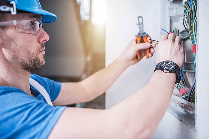 Registered electrician in Melbourne